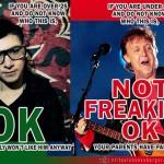 Do you know Skrillex or Paul McCartney?